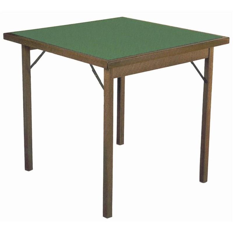 Tavolo da gioco in legno pieghevole. 2 misure Del Fabbro Home and Work miglior prezzo € 190.00 ...