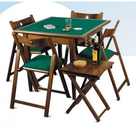 Sedia da gioco in legno pieghevole faggio massiccio del fabbro home and work miglior prezzo - Tavoli da gioco carte pieghevoli ...