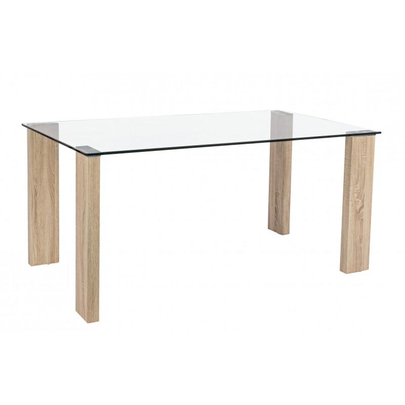 Tavolo in vetro Arley by Bizzotto Homemotion miglior prezzo € 163,00