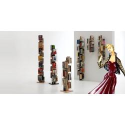 Libreria verticale in massello di faggio. Modello Zia Veronica
