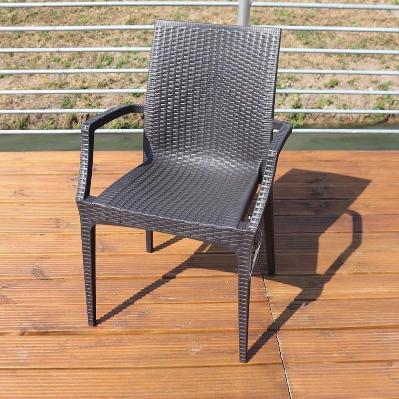 poltrona rattan bistrot in greenpol linea green boheme. Black Bedroom Furniture Sets. Home Design Ideas