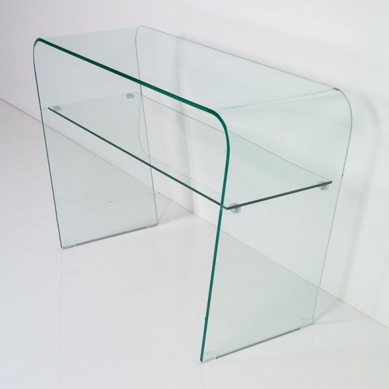 Consolle vetro temperato modello eta miglior prezzo su for Consolle vetro
