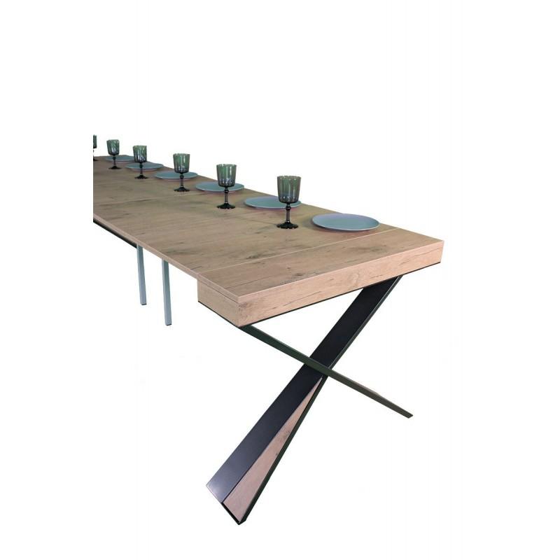 Tavolo consolle allungabile diago tavolo design group design miglior prezzo su - Tavolo consolle riflessi p300 prezzo ...