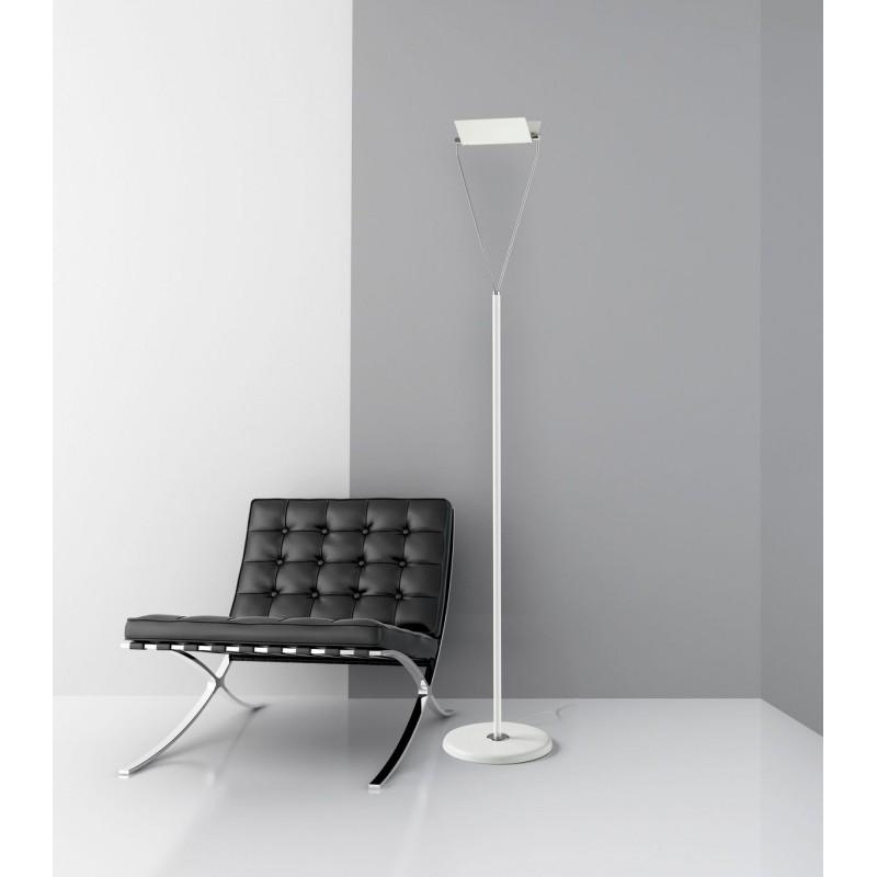 Lampada da terra moderna cattaneo sling led con supporto for Lampada da terra moderna