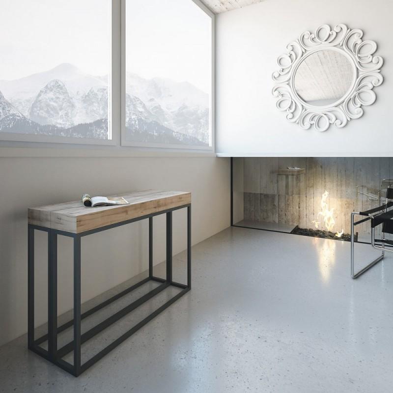 Tavolo consolle allungabile epoca tavolo design for Consolle tavolo