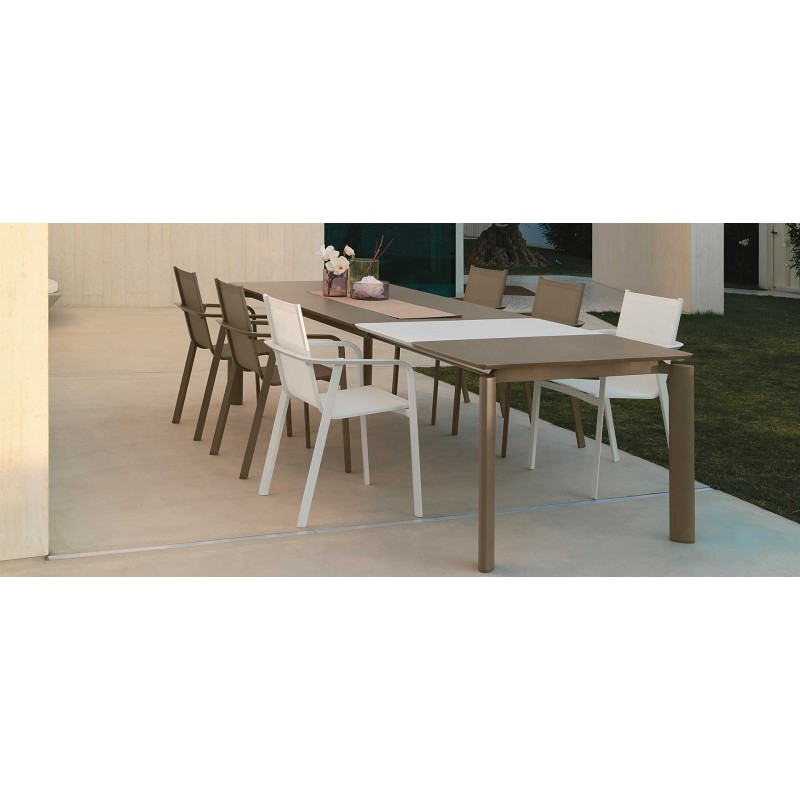 Sedia da esterno milo di talenti alluminio e textilene miglior prezzo - Colori da esterno ...