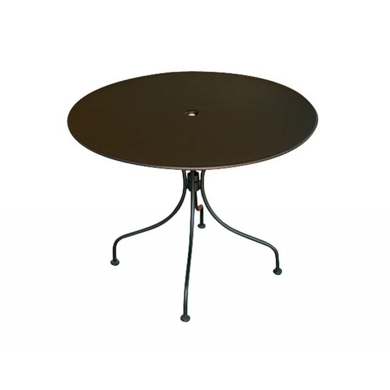 Tavolo da giardino rotondo modello baveno in offerta su for Tavolo rotondo diametro 90
