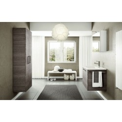 Mobile bagno DOUBLE by BMT Bagni. Composizione 01.