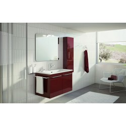 Mobile bagno Double by BMT Bagni. Composizione 02