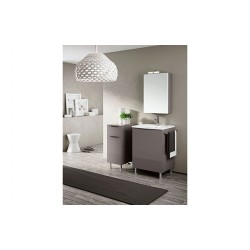 Mobile bagno Double by BMT Bagni. Composizione 03