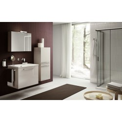 Mobile bagno DOUBLE by BMT Bagni. Composizione 04
