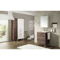 Mobile bagno DOUBLE by BMT Bagni. Composizione 05.