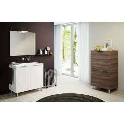 Mobile bagno DOUBLE by BMT Bagni. Composizione 06.