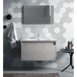 Mobile bagno MARS collezione EVERYDAY by BMT Bagni. Composizione 03