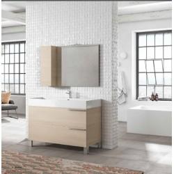 Mobile bagno MERCURY collezione EVERYDAY by BMT Bagni. Composizione 01
