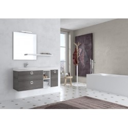 Mobile bagno JUPITER collezione EVERYDAY by BMT Bagni. Composizione 1