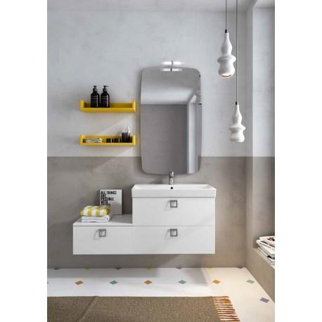 Mobile bagno JUPITER collezione EVERYDAY by BMT Bagni. Composizione 05