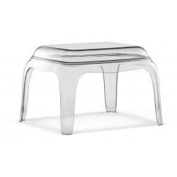 Tavolino/Pouf PASHA 661 di Pedrali in policarbonato.