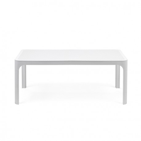 Tavolino basso Net Table 100 in polipropilene fiberglass. Vari colori.