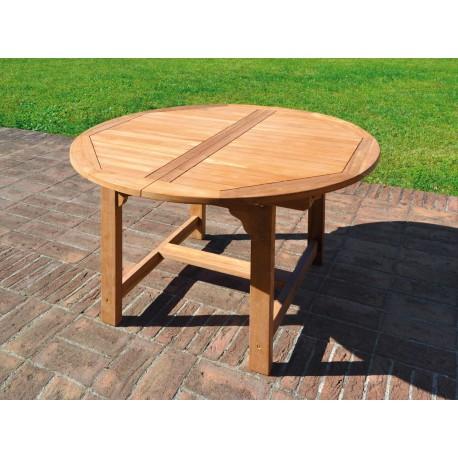 Tavolo da giardino in teak Capraia. In offerta su Arredocasastore