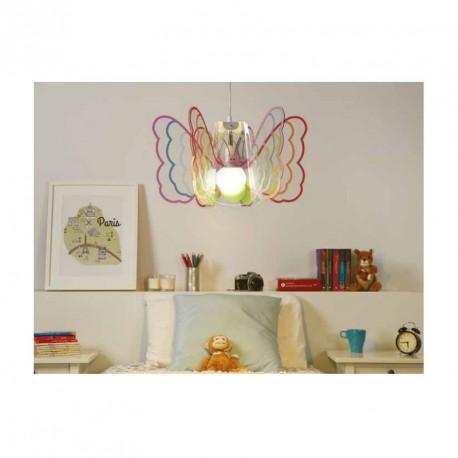Lampada a sospensione per cameretta Butterfly by Emporium