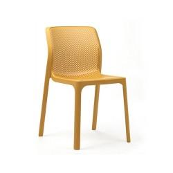 Sedia da esterno Bit by Nardi. Impilabile, diversi colori.
