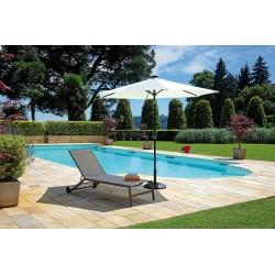 Ombrellone da giardino con luci e altoparlante bluetooth. Diametro mt. 2.70