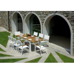 Set tavolo e sedie da giardino Ajaccio e Bastia di Greenwood.