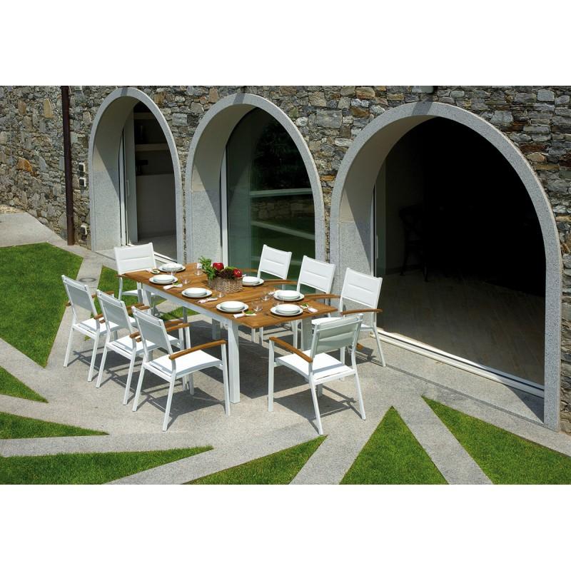 Set tavolo e sedie da giardino ajaccio e bastia di for Tavolo e sedie esterno offerte