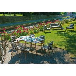 Set tavolo e sedie da giardino Imperia di Greenwood.
