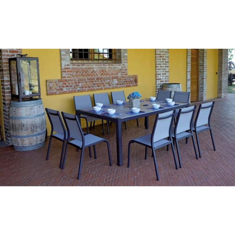 Set tavolo e sedie da giardino siena di greenwood in offerta - Tavolo e sedie giardino ...