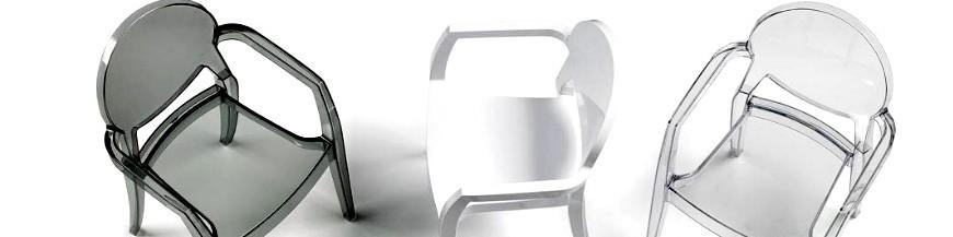 Sedie design moderne in legno, plastica e trasparenti economiche ...