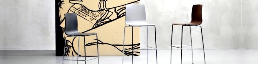 Sgabelli dal design moderno, in legno pieghevoli e regolabile ...