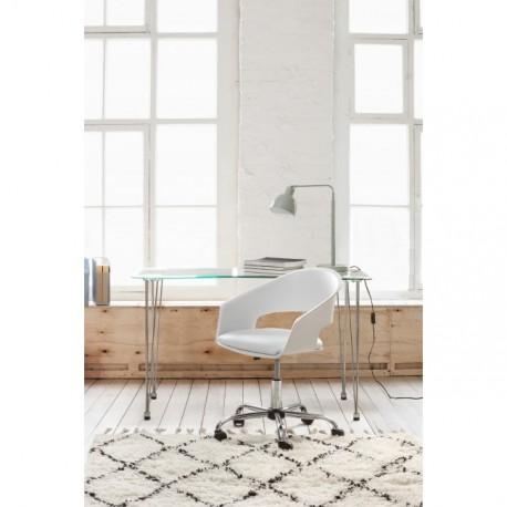 Set ufficio scrivania Rondò e sedia Wells by Bizzotto
