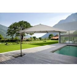 Ombrellone da giardino in alluminio Orland di Bizzotto. Diametro mt 3,5