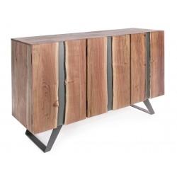 Credenza in legno Aron by Bizzotto. Madia in legno 3 ante