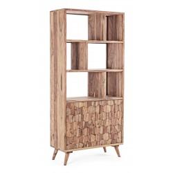 Libreria in legno Shesham Kant by Bizzotto. 2 ante