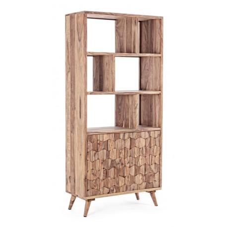Libreria in legno Shhesham Kant by Bizzotto. 2 ante