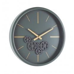 Orologio da parete Engrenage di Bizzotto. Acciaio e Vetro. Mod. M21 D46