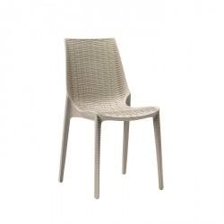 Sedia Lucrezia polipropilene intrec.to fibra di vetro - Scab Design
