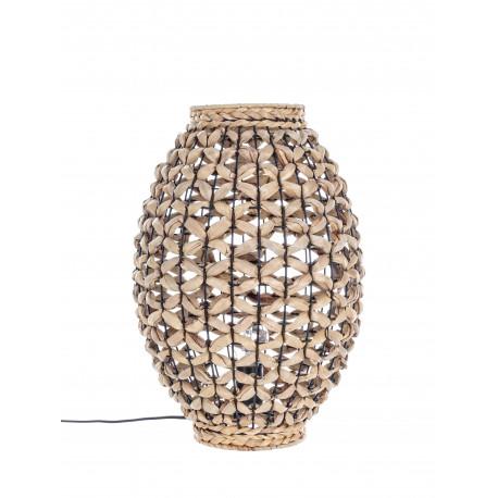 LAMPADA DA TAVOLO KENYA NATURALE BY BIZZOTTO