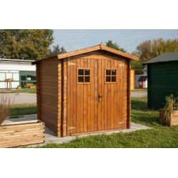 Casetta da giardino in legno mod. PERLA 200 x 200 di Losa Esterni da Vivere