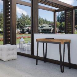 Tavolo da esterno allungabile Dalia. Allungabile sino a cm. 300