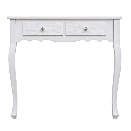 CONSOLLE DUE CASSETTI BLANC BY BIZZOTTO