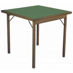 Tavolo da gioco in legno pieghevole. 2 misure