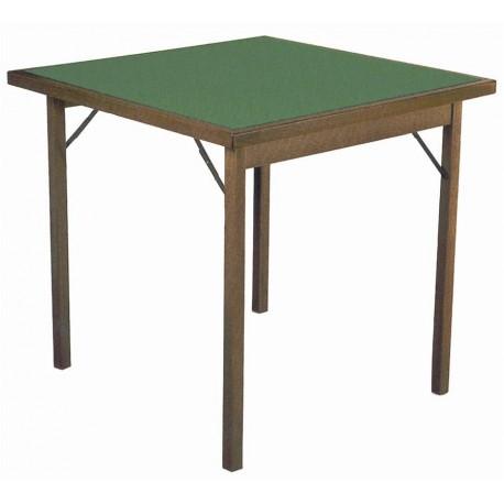 Tavolo Di Legno Pieghevole.Tavolo Da Gioco In Legno Pieghevole 2 Misure