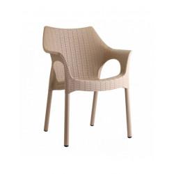 Sedia Scab Olimpia Trend con gambe verniciate - Scab Design