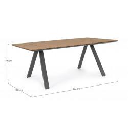 Tavolo d esterno Elias di Bizzotto.