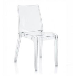 Sedia in policarbonato modello Cristal Light. Linea Up-On Di Grand Soleil