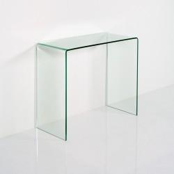 Consolle vetro temperato modello Steasy